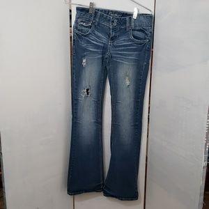 Amethyst juniors bootcut denim jeans